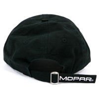 Mopar Omega M Logo Heavy-Washed Strapback Dad Hat