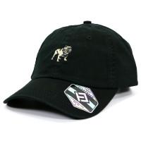 Mack Bulldog Logo Heavy-Washed Strapback Dad Hat