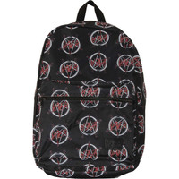 Slayer Allover Pentagram Logo Sublimated Laptop Backpack
