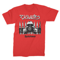 The Casualties Resistance Slim-Fit T-Shirt Red
