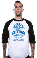 Lucky 13 Anti Social Club Raglan T-Shirt