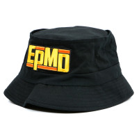 EPMD Logo Bucket Hat Black