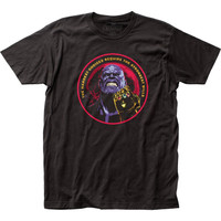 Marvel Avengers Infinity War Thanos T-Shirt
