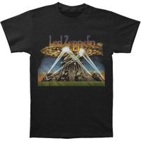 Led Zeppelin II Blimp with Searchlights Slim-Fit T-Shirt