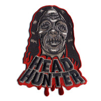 Retro A Go Go Head Hunter Embroidered Patch