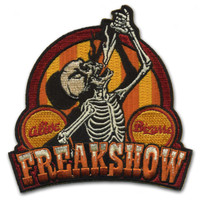 Retro A Go Go Freakshow Embroidered Patch