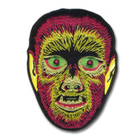 Retro A Go Go Electric Werewolf Embroidered Patch