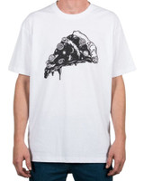 ALC Apparel Pizzaverse Slim-Fit T-Shirt White