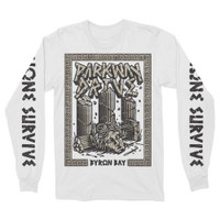 Parkway Drive None Survive Long-Sleeve T-Shirt White