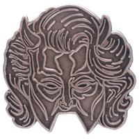 Ghost Female Nameless Ghoul Enamel Pin