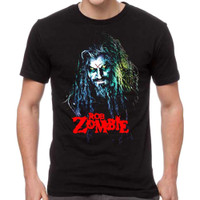 Rob Zombie Hell Billy Head T-Shirt