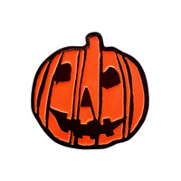 Halloween 2018 Pumpkin Logo Enamel Pin