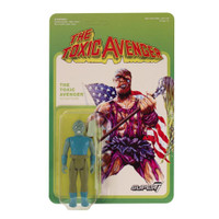 "Super7 Toxic Avenger Movie Edition ReAction Figure 3.75"""