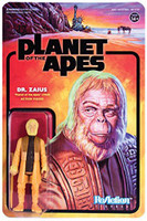 "Super7 Planet Of The Apes Dr. Zaius ReAction Figure 3.75"""