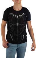 Marvel Comics Black Panther Character Print T-Shirt