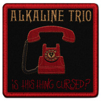 "Alkaline Trio Phone Embroidered Patch 3.5"" x 3.5"""