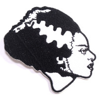 Universal Monsters White Bride Embroidered Patch