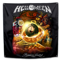 "Helloween Collage Fabric Poster Flag 48"" x 48"""