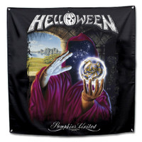 "Helloween Keepers Legend Fabric Poster Flag 48"" x 48"""