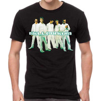 Backstreet Boys Cut Out Slim-Fit T-Shirt