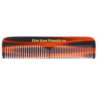 "Don Juan 5"" Tortoise Pocket Comb"