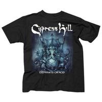 Cypress Hill Elephants On Acid Album Cover Slim-Fit T-Shirt