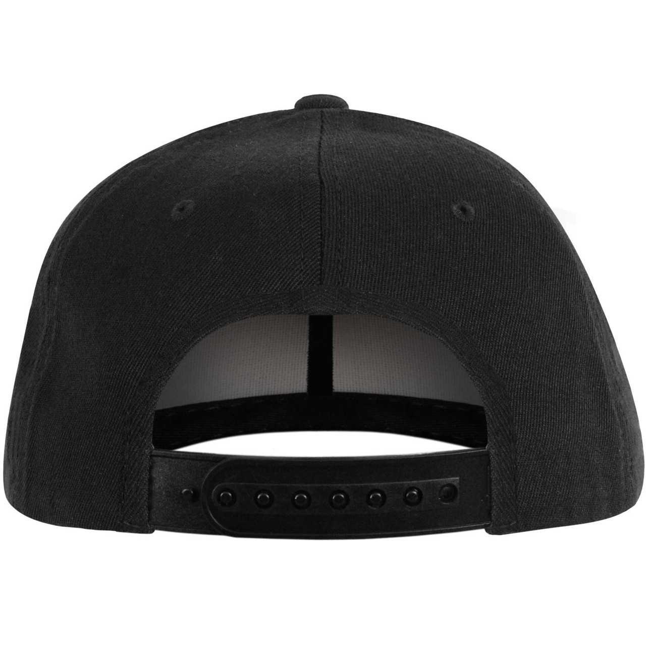 37b29229d EPMD Logo Snapback Hat Black