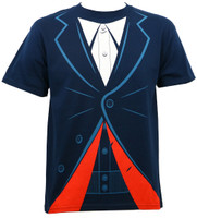 Doctor Who 12th Doctor Outfit T-Shirt Navy