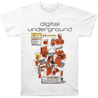 Digital Underground This Is An EP Slim-Fit T-Shirt White