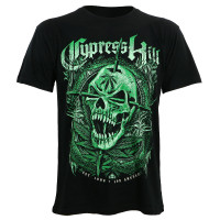 Cypress Hill 2018 Green Skull Slim-Fit T-Shirt