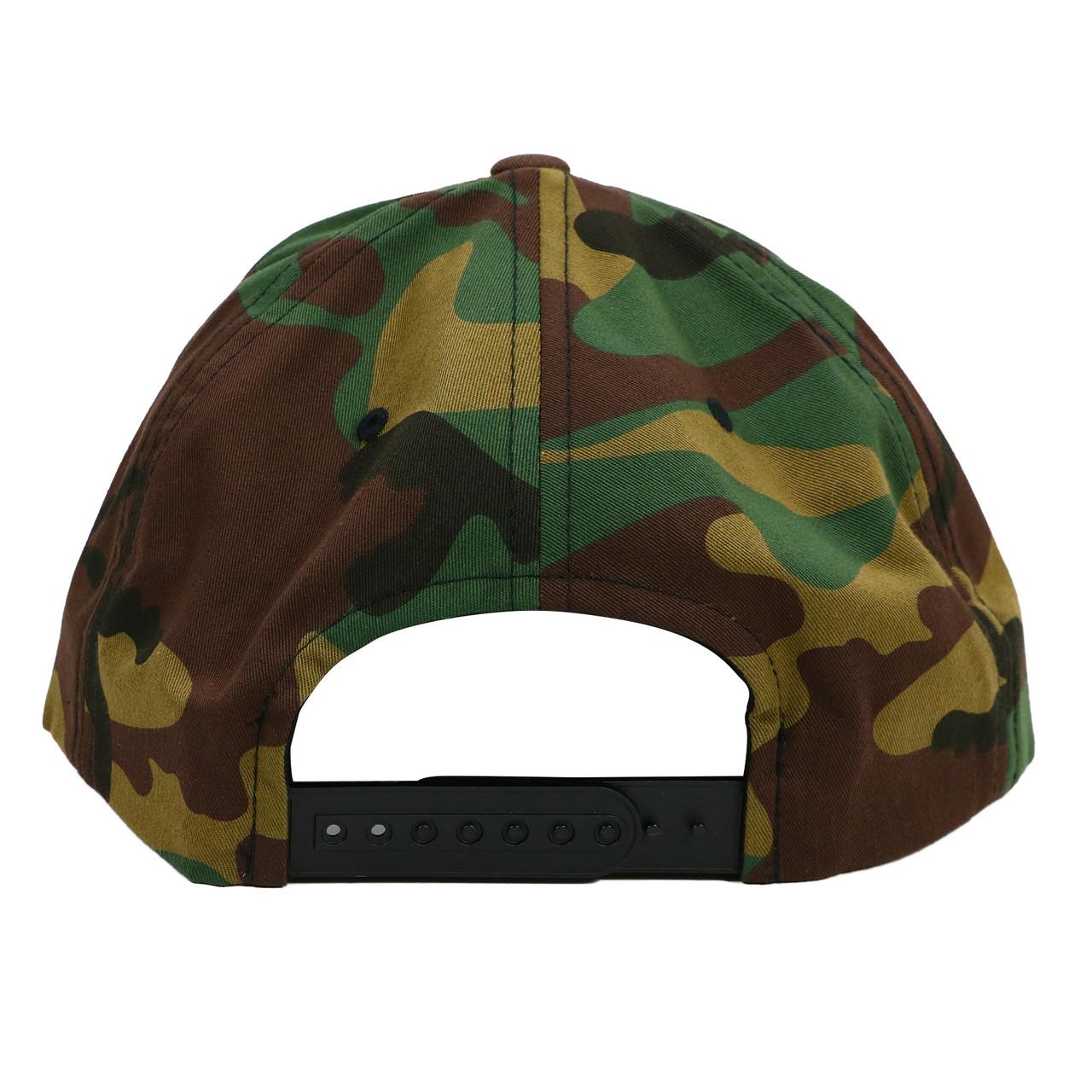 b12c80f0a EPMD Logo Snapback Hat Camo