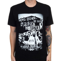 Clutch Band Photo BYOB Slim Fit T-Shirt