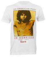 The Doors American Poet Slim Fit T-Shirt White