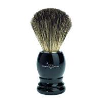 Edwin Jagger Pure Badger Hair Imitation Ebony Shaving Brush