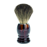 Edwin Jagger Pure Badger Hair Imitation Tortoise Shell Shaving Brush