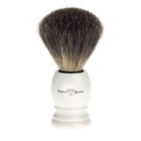 Edwin Jagger Pure Badger Hair Imitation Ivory Shaving Brush
