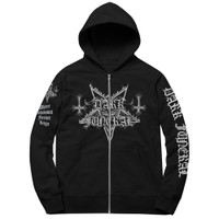 Dark Funeral Where Shadows Forever Reign Zip Up Hoodie
