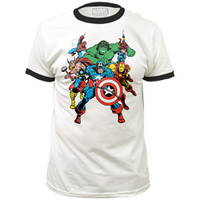 Marvel Avengers The Avengers Ringer Slim-Fit T-Shirt
