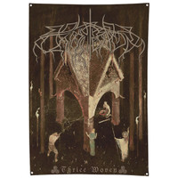 """Wolves In The Throne Room Thrice Woven Poster Flag 34"""" x 50"""""""