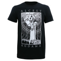 Alcest Kodama Faces/Skull Slim-Fit T-Shirt