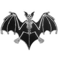 Kreepsville 666 Skelli Bones Bat Embroidered Patch