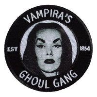 Kreepsville 666 Vampira Ghoul Gang Embroidered Patch