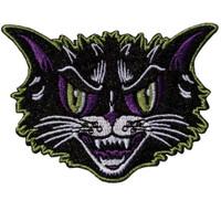 Kreepsville 666 Kattitude Head Embroidered Patch