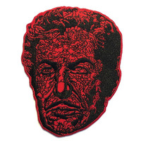 Kreepsville 666 Vincent Price Red Death Face Embroidered Patch
