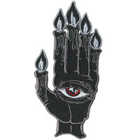 Kreepsville 666 Hand of Glory Embroidered Patch