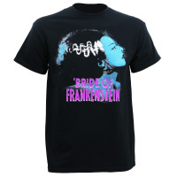 Universal Blue Bride of Frankenstein T-Shirt