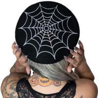 Kreepsville 666 Spider Web Beret Hat