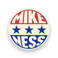 Mike Ness Presidential Enamel Pin