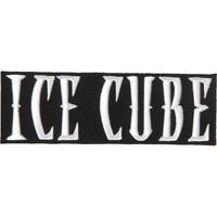 Ice Cube Logo Patch