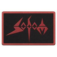 """Sodom Red Logo Patch 2.5"""" x 4"""""""